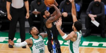 Irving scores 37 and leads the Nets to victory over the Celtics. | Buzzenga