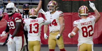 49ers knocked down the Cardinals. | Buzzenga