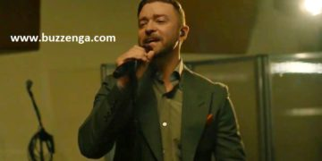 Justin Timberlake performs at the inauguration concert. | Buzzenga