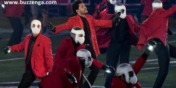 The Weeknd's Super Bowl 2021 Halftime Performance | Buzzenga