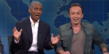 Obama and Springsteen Stop by SNL's Weekend Update